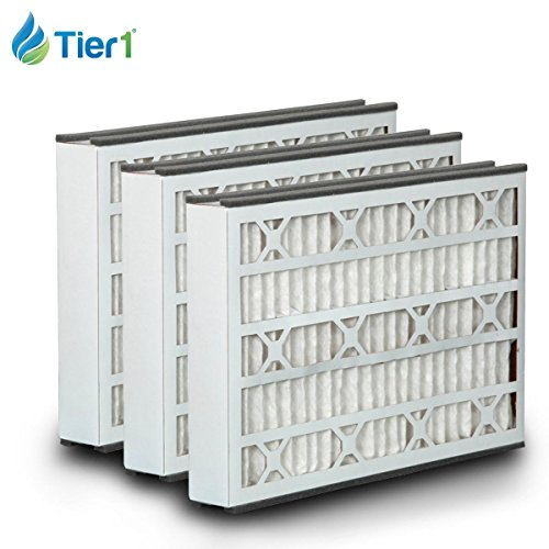Tier1 Replacement for GeneralAire 16x25x3 Merv 8 14164 & 4521 Air Filter 3 Pack by Tier1