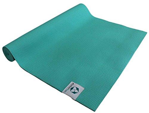 Yogamatte »Annapurna Comfort« / Die ideale Übungs-Matte für Yoga, Pilates, Gymnastik. Maße: 183 x 61 x 0,5cm, türkis
