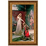Design Toscano The Accolade, 1901, Canvas Replica Painting: Large