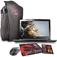 MSI GS43VR PHANTOM PRO 14 Gaming Laptop - Core i7-7700HQ Skylake, 16GB RAM, 1TB HDD + 128GB SSD, GTX1060 6G VRAM, VR Ready + Gaming Bundle