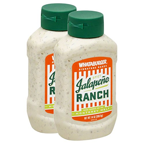 (2-PACK) Whataburger Spicy Jalapeno Ranch - 14oz Bottle by Whataburger