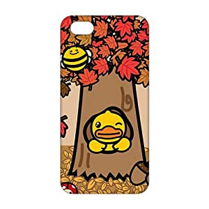 B-duck under the tree 3D For Iphone 5/5S Phone Case Cover