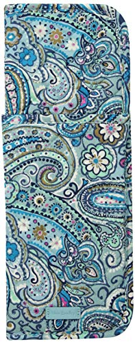 Vera Bradley womens Iconic Curling & Flat Iron Cover, Signature Cotton, Daisy Dot Paisley, One Size