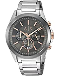 Armani Exchange Mens AX2606 Silver Watch