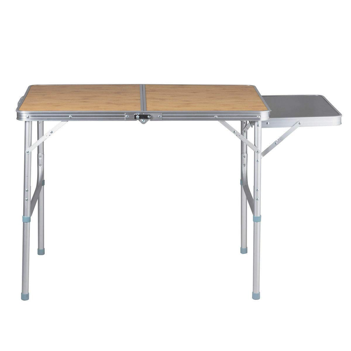PNPGlobal Portable Folding Picnic Camping Trade Show Table Indoor Outdoor Patio Furniture by PNPGlobal