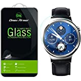 Huawei Watch Screen Protector Glass, Dmax Armor® [Tempered Glass] 0.3mm 9H Hardness, Anti-Scratch, Anti-Fingerprint, Bubble Free, Ultra-clear [ Lifetime Warranty]
