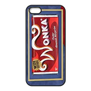 High Quality {YUXUAN-LARA CASE}Wonka Bar Pattern For Apple Iphone 5 5S STYLE-19