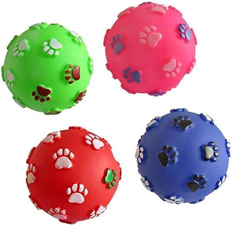 Perro de mascota Pelota de juguete con forma de bola Juguete de ...
