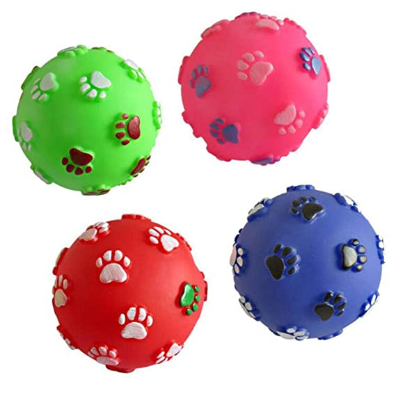 ZIMO Perro de mascota Pelota de juguete con forma de bola Juguete ...