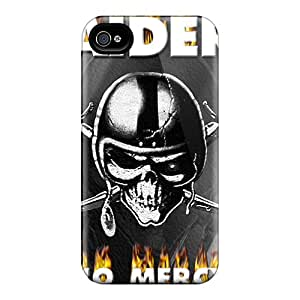 Protector Cell-phone Hard Covers For Iphone 6 (sJo7049cAfJ) Support Personal Customs Beautiful Oakland Raiders Pattern
