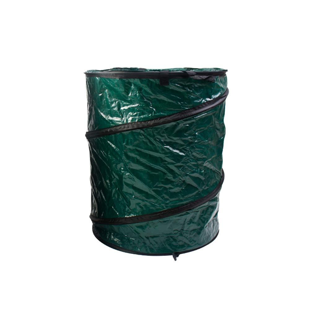 LJXiioo Borsa Contenitore per Giardino Pieghevole, Borsa rifiuti - per Raccogliere Foglie, rifiuti, Attrezzi, bucato, Giocattoli o Spazzatura,3pcs