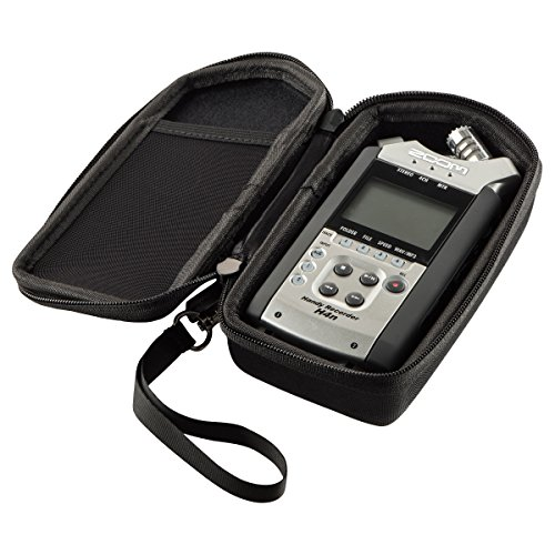 Hard Case Fits Zoom H4N PRO Digital Multitrack Recorder or TASCAM DR-40 4-Track Portable Digital Recorder | Carrying Storage Travel Bag Protective Pouch