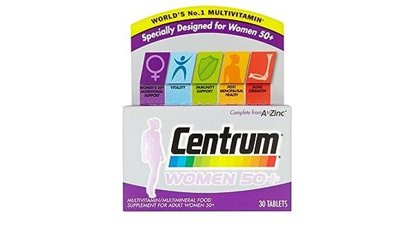 Centrum para las mujeres mayores de 50 años el 30 por paquete: Amazon.es: Salud y cuidado personal