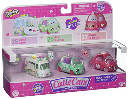 Cutie Car Spk Season 1 Candy Combo 3 Pack