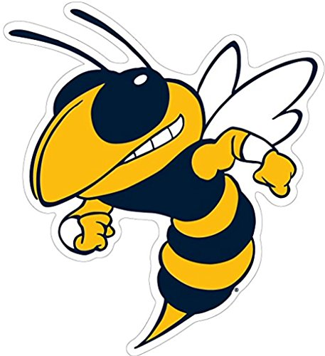 - GT GEORGIA TECH YELLOW JACKETS Vinyl Sticker 4