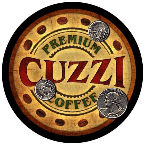 (4 pack - Cuzzi Family Coffee Neoprene Drink)