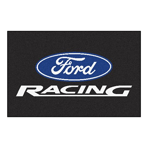 - FANMATS 15771 Ford Racing Starter Rug
