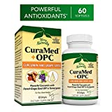 Terry Naturally CuraMed + OPC - 60 Softgels - BCM-95 Curcumin & French Grape Seed VX1 Supplement, Supports Brain, Heart, Colon, Breast, Prostate & Liver Health - Non-GMO, Gluten-Free - 30 Servings