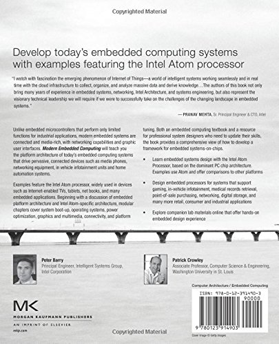Barry computing modern embedded pdf peter