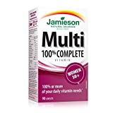 Best Multivitamins For Women - Jamieson 100% Complete Multivitamin for Women 50+ Review