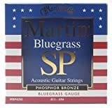 Martin MSP4250 Bluegrass SP Phosphor Bronze Acoustic Guitar Strings, Medium