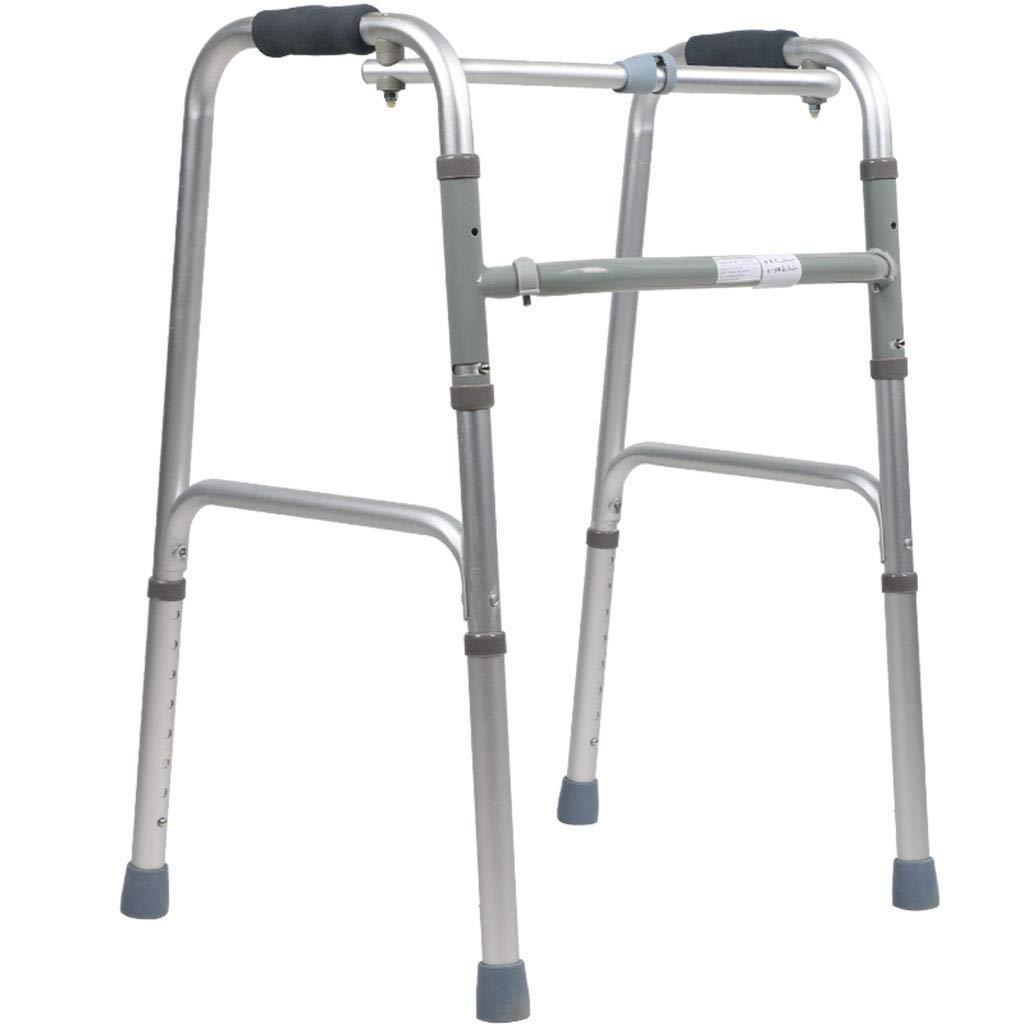 【最安値】 歩行者の厚いアルミ合金の調節可能な高さは容易に折ることを不可能にされた年配のウォーキングフレーム   B07NSTYWVD, フロアーシール:c0691860 --- a0267596.xsph.ru