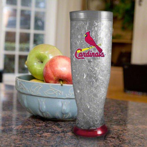 St. Louis Cardinals 16 oz Logo Freezer Pilsner (Mug Freezer Cardinals)