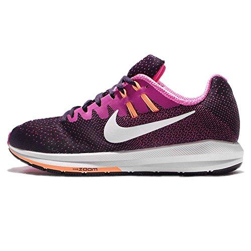 Nike Womens Wmns Air Zoom Struktur 20, Lilla Dynsty / Hvit-fr Rosa Punsj Crm, Fem Oss
