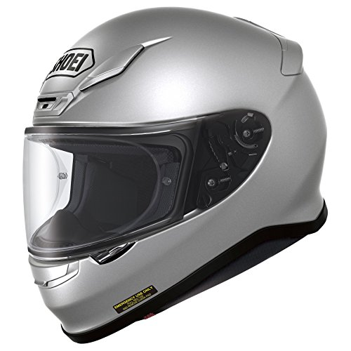 Shoei RF-1200 Full Face Motorcycle Helmet Light Silver 2X-Large (More Color and Size Options)