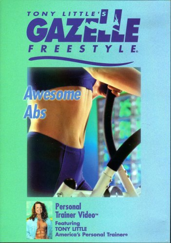 Little Dvd Tony Gazelle Freestyle - Tony Little's Gazelle Freestyle Awesome Abs Workout (DVD)