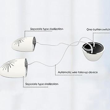 Secador de Zapatos Desodorante de Calzado Eléctrico Calentadores Ligeros Calentador Desodorante Calefacción Multifunción: Amazon.es: Bricolaje y ...