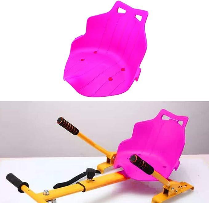 Kmoon Hoverboard Sitz Kart Hover Sitz Sitzscooter Kunststoffsitz Für Hoverkart Rosa Auto