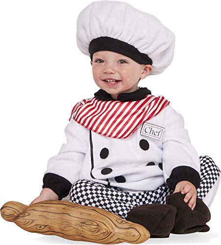 Rubie's Baby Little Chef Costume, As Shown, Toddler -