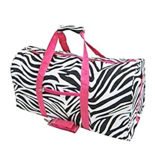 Zebra Carry On Duffle Bag - Dance Cheer Gym