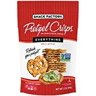 Snack Factory Pretzel Crisps Everything, 7.2 Ounce