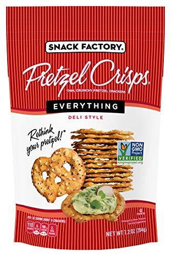 Snack Factory Pretzel Crisps, Everything, 7.2 oz (Everything Under Dollars 3)