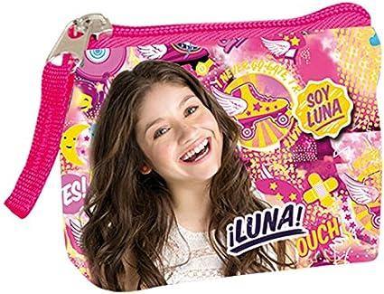 Soy Luna Monedero Disney Cuadrado: Amazon.es: Juguetes y juegos