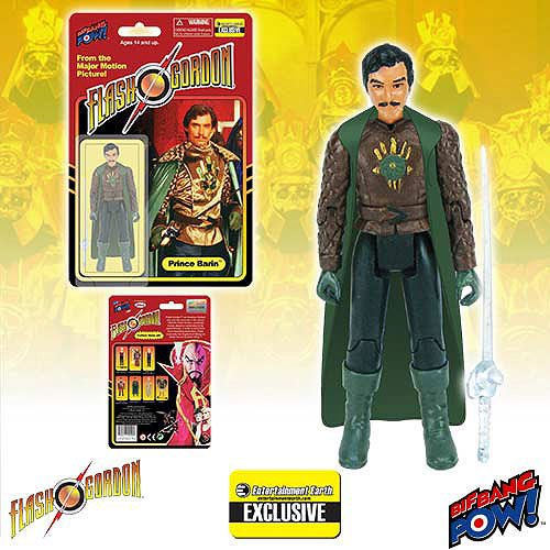 Flash Gordon Rocket (Flash Gordon Prince Barin in Cape 3 3/4-Inch Figure-EE Excl.)