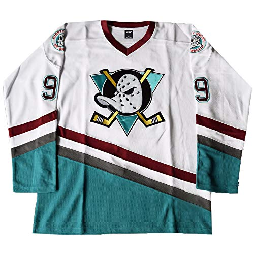 AIFFEE Men's Hockey Jersey #99 Banks Ducks Ice