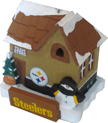 NFL Pittsburgh Steelers Holiday Village Team Store Ornament