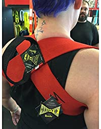 Spud Formal Bowtie Posture Support Brace No Rounded Shoulders Donnie Thompson (X-Large: 225 lbs. – 255 lbs.)