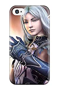 Iphone Cover Case - White Haired Elf Protective Case Compatibel With Iphone 4/4s by lolosakes