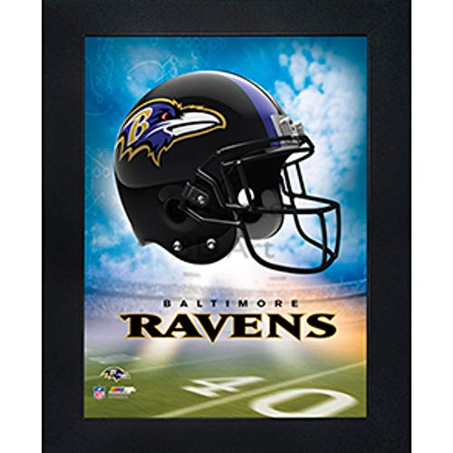 Ravens Baltimore Paper (Baltimore Ravens 3D Poster Wall Art Decor Framed Print | 14.5x18.5 | Lenticular Posters & Pictures | Memorabilia Gifts for Guys & Girls Bedroom | NFL Football Team Sports Fan Pictures for Man Cave)