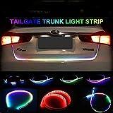 Fabtec Univeral Flow Car LED Light Streamer Brake Trunk Signal Light for All Cars & Mini SUVS (4FT)