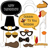 If you are going to have a Thanksgiving day celebration, then having the Thanksgiving day party photo booth kit is a must. Our Give Thanks Thanksgiving Party photo prop kit will help you easily create fun party photos at your party. The photo...
