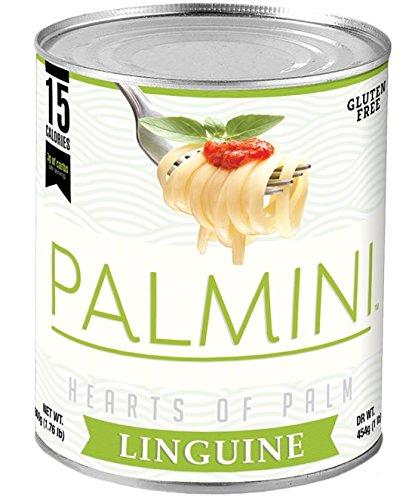 Palmini, 15 Calories, 3g of Carbs, Vegetable Pasta (16 Oz Net) (Linguine)