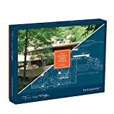 Galison Frank Lloyd Wright Fallingwater 2-Sided Puzzle (500 Piece)