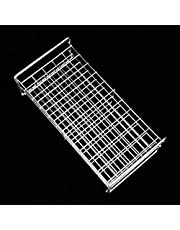 50-Hole Test Tube Support, Stainless Steel Test Tube Rack Test Tube Bracket Stainless Steel for Laboratory