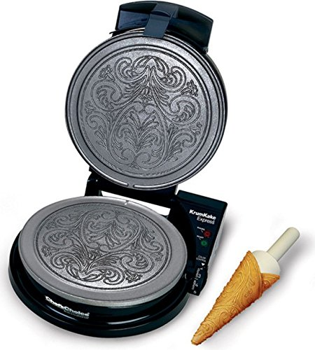 Chef's Choice 839-SE KrumKake Express Nonstick Krumkake Maker