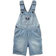 OshKosh B'gosh Baby Boys' Shortall 11787110, Denim, 18 Months